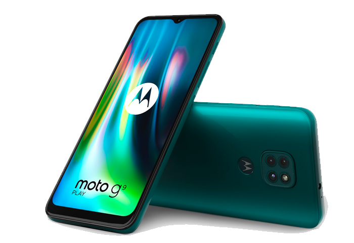 Moto G9 Play color evergreen